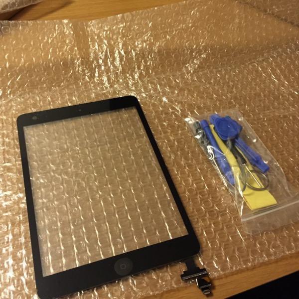 【修理します】iPad mini ガラスのみを交換してみました。